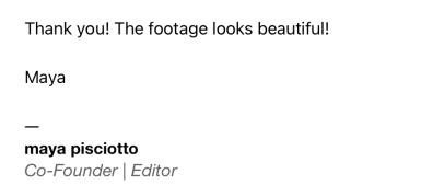 filmmaker peru photography director
